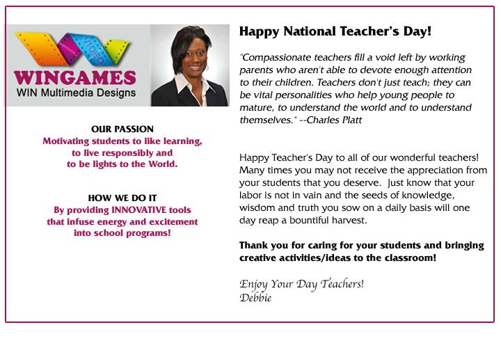 Teacher Day Letter